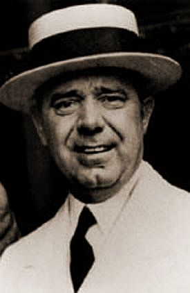The infamous Huey P. Long....  Huey Pierce Long, Jr. (August 30, 1893 – September 10, 1935), nicknamed The Kingfish, served as the 40th Governor of Louisiana from 1928–1932 and as a U.S. Senator from 1932 to 1935. I Saw most of the filming of All The Kings Men, loosely based on him.  Awesome movie!!!