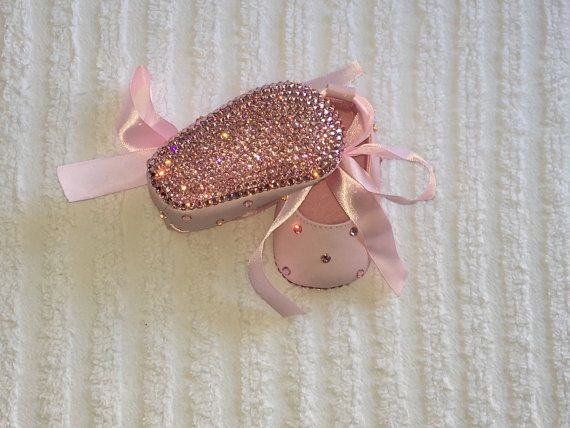 ANY COLOR Princess Bling Baby Shoes with Satin by DiamondCouture