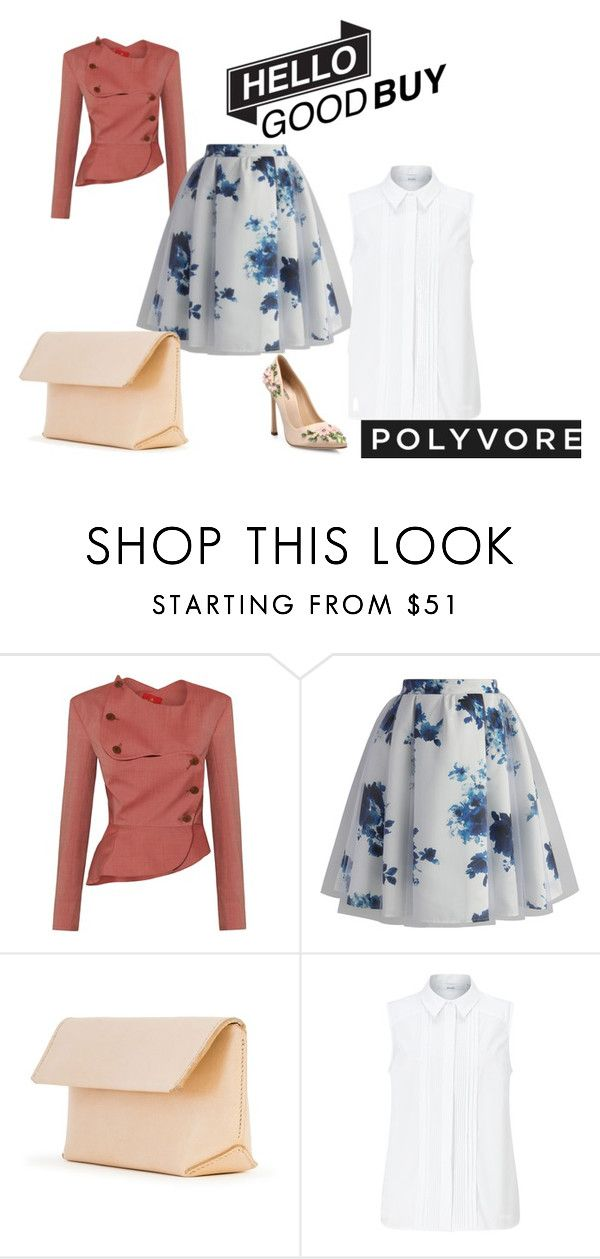 """""""Corporate meeting"""" by ogor2812 on Polyvore featuring Chicwish, Iala Díez, John Lewis, Giambattista Valli and patchesandpins"""