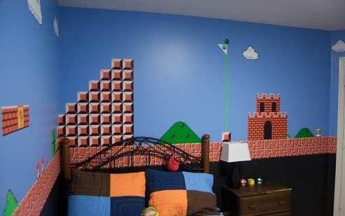 cute boys room idea