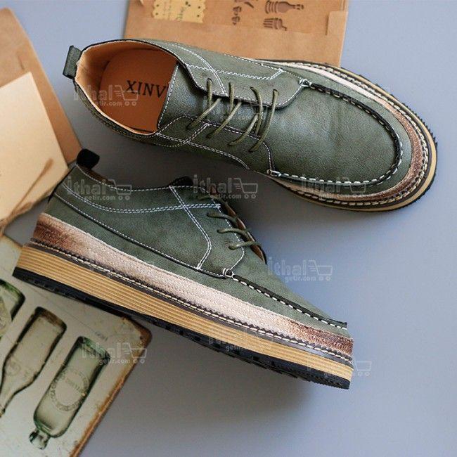 Yüksek Kaliteli Malzemelerden Üretim Moda Erkek Ayakkabı Modelleri - 571582 - 2