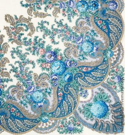 Pavlov-Posad woolen shawls
