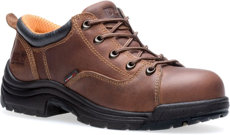 063189214 Timberland PRO Women's Titan Safety Shoes - Brown