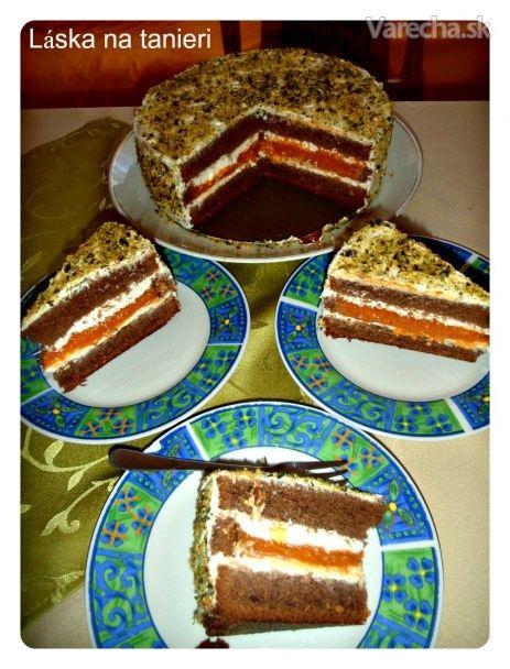 Marhuľová torta (fotorecept)