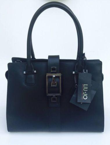 handbag-borsa-bauletto-Liu-Jo-modello-M-Debra-pelle-leather-nero-black