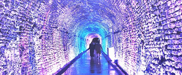 You Can Go On A Magical Walk Through This Glowing Rock Tunnel In Ontario