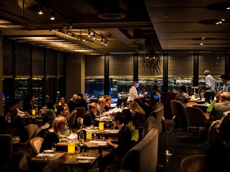 Canoe's dining room offers views of Toronto's skyline and Lake Superior