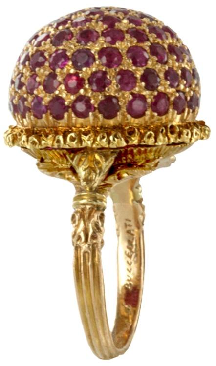 Buccellati - rubies and gold