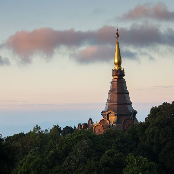 Full Day #Doi #Inthanon #National #Park #Tour from #ChiangMai. Doi Inthanon, the Thailand's highest mountain offers beautiful scenery and impressive waterfalls.