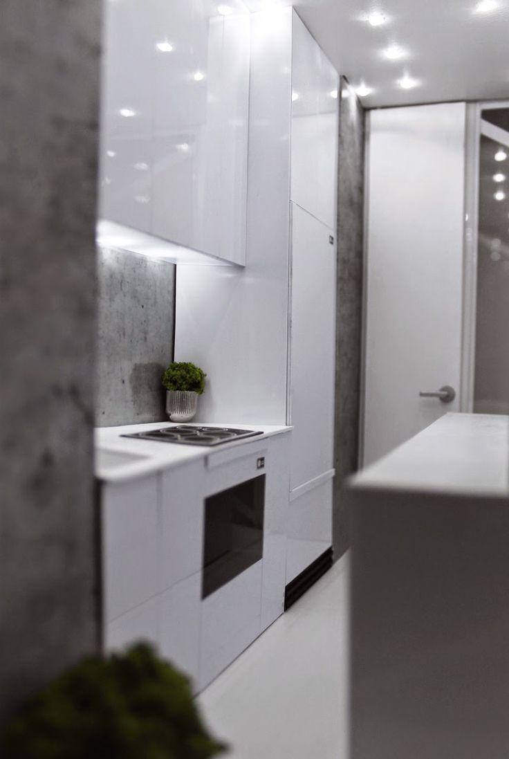 Dollhouse miniature modern white kitchen zionstarnet Find the