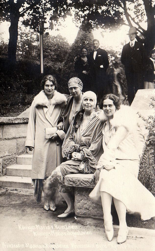All sizes   Queen Marie of Roumania with her daughter Ileana and Grand Duchess Kira of russia   Flickr - Photo Sharing!