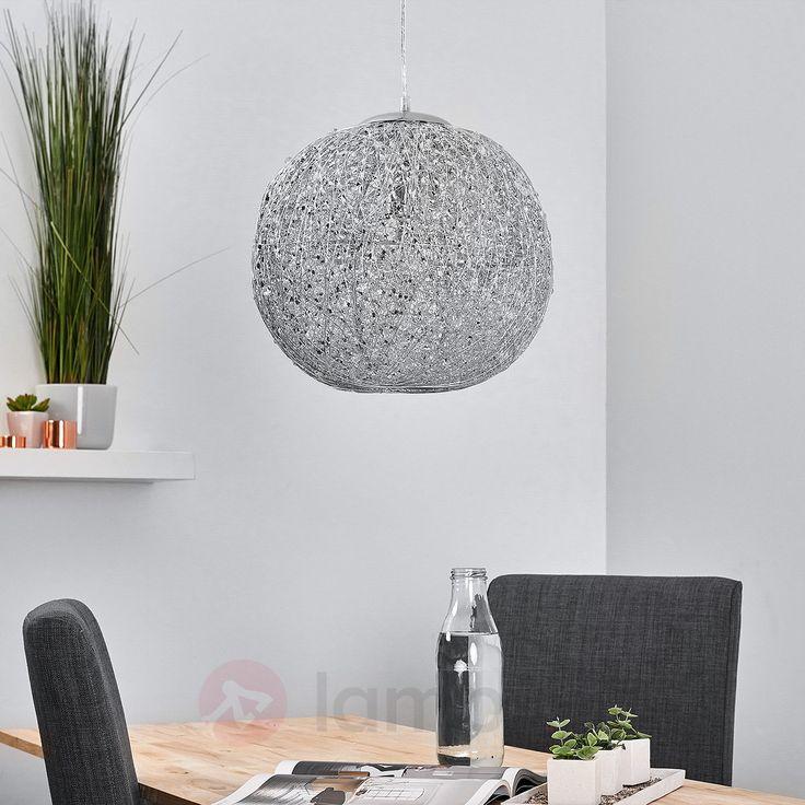 Piękna metalowa lampa wahadłowa CATARINA 9625077