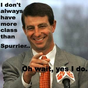 Love Dabo! Clemson Tiger Pride!! Like my facebook page for exercise tips, support, and recipes. https://www.facebook.com/letsbefit43/?ref=aymt_homepage_panel