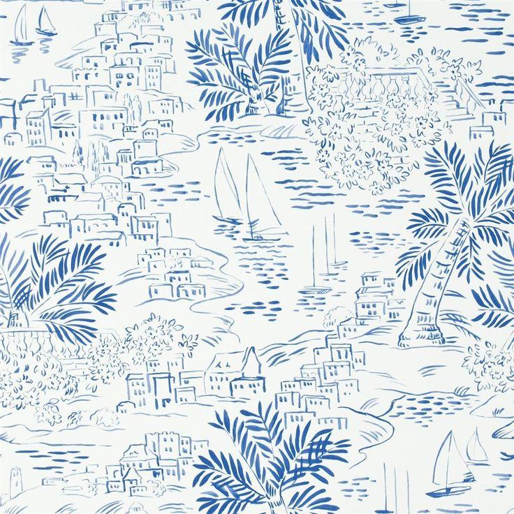 homeport novelty - marine wallpaper | Ralph Lauren