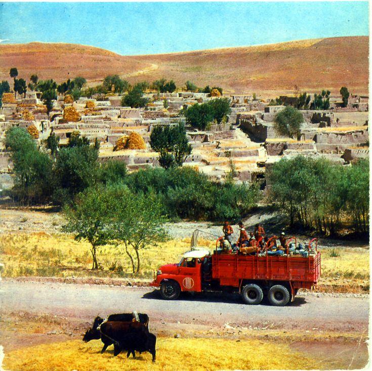 Грузовой автомобиль Tatra 138. Афганистан