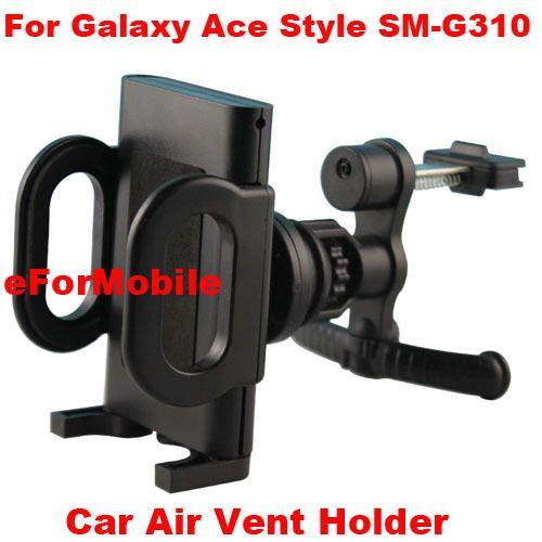 Автомобильный держатель вентиляционное отверстие мобильный телефон автомобильный держатель вращающийся держатель мобильный телефон подставка для Samsung Galaxy Ace стиль SM-G310