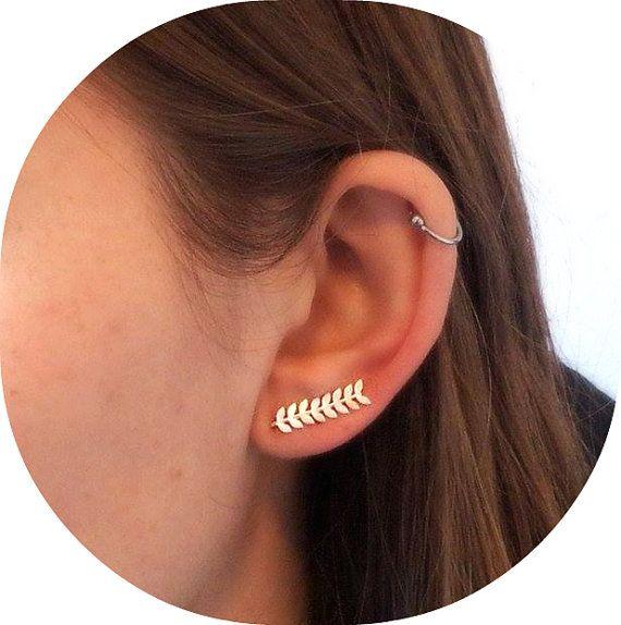 Leaf Ear pins