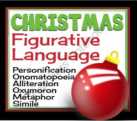 best alliteration images alliteration  christmas figurative language label metaphor simile personification more from presto