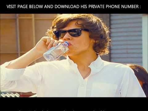 Harry Styles phone number 2013 real [with test]