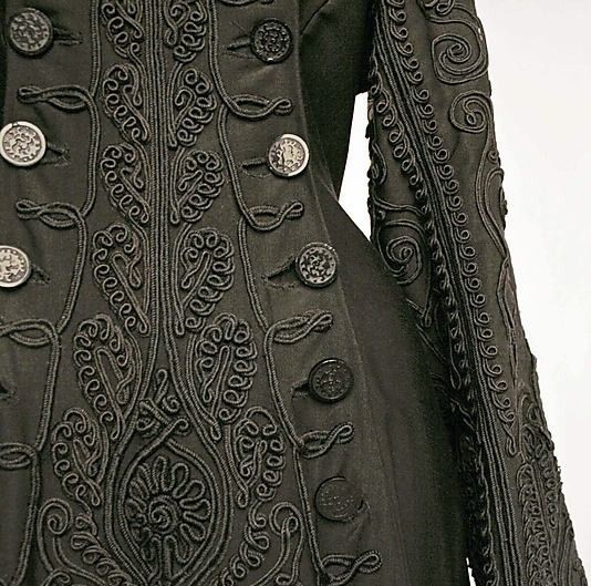 focus-damnit:Detail View of Ensemble, American, c. 1880. (via metmuseum.org)