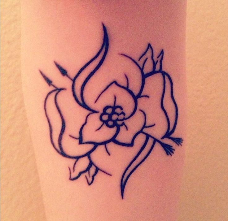 My La Dispute Flower tattoo