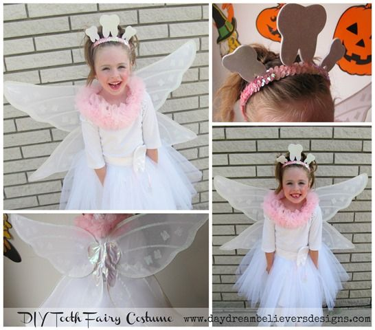 diy tooth fairy costume handmade halloween by daydream believers designs