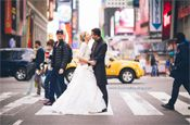 Scrubs Actor Randomly Photobombs a Wedding Photo Session as He Walks to Work