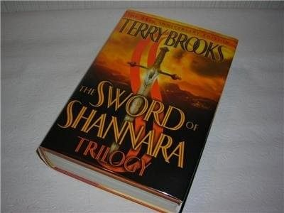 $75  SWORD SHANNARA--TRILOGY--SIGNED--TERRY BROOKS--EXTRAS SIGNED BY TERRY BROOKS--SAN FRANCISCO BAY AREA--BOOK TOUR INCLUDES EVENT SIGNING: PHOTOGRAPH & FLYER 1ST EDITION/1ST PRINTING, 1 to 10 number lin