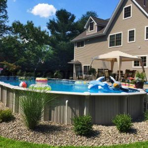 Landscaping Around Swimming Pools Ideas