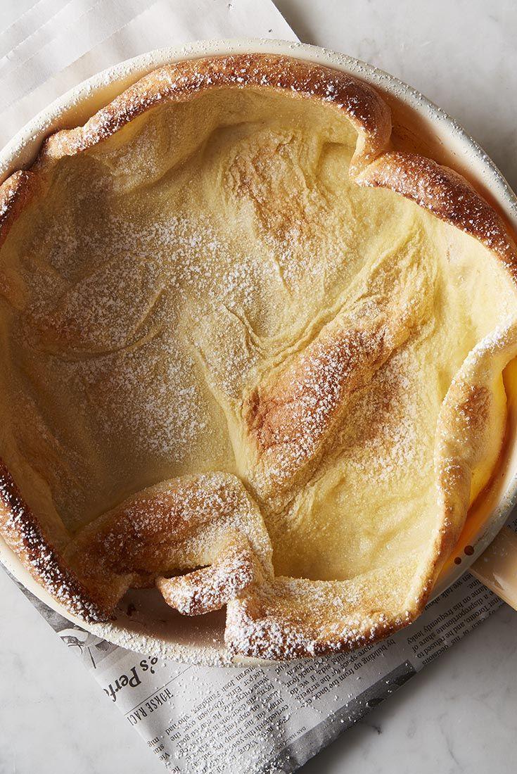 Lemon Puff Pancake with Fresh Berries Recipe
