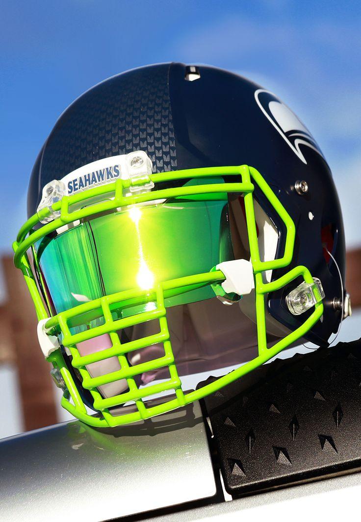 Authentic collectible seahawks custom helmet build