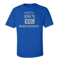 Rialto High School - Rialto, CA | Men's T-Shirts Start at $21.97