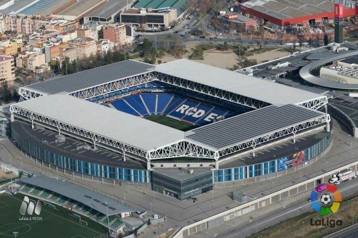 Estadio Real Club Deportivo Español, en Monjui