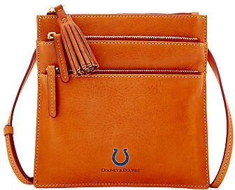 Dooney & Bourke NFL Colts North South Triple Zip Shoulder Bag
