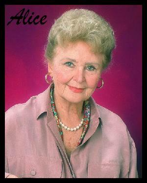 Frances Reid (Alice Horton)  -  Days of Our Lives 1965-2007  -   NBC   ...   I miss this great lady.