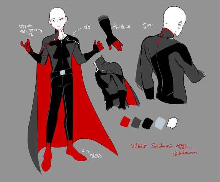 Saitama - Villain AU
