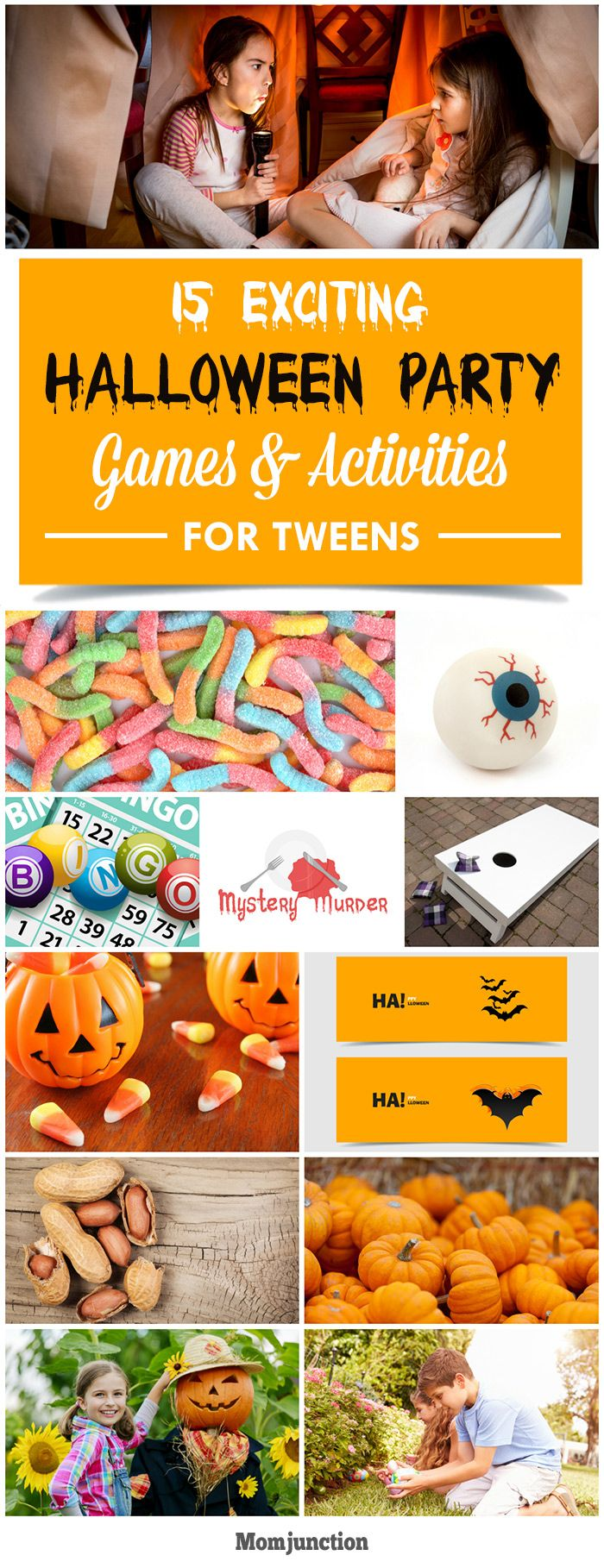 15 Exciting Halloween Party Games & Activities For Tweens: Here are 15 exciting games and activities that will make the #Halloween party truly memorable for your little tweens.