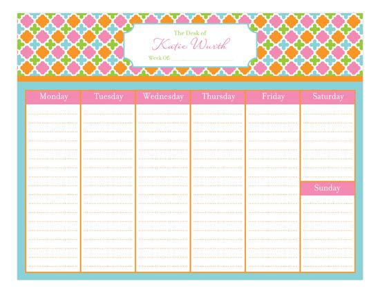 Weekly Calendar Pad : The best calendar pad ideas on pinterest calander