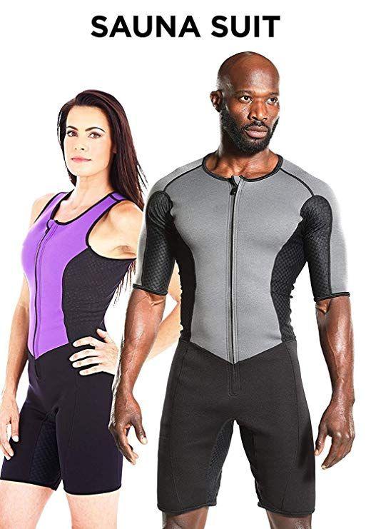 G Weight Sauna Suit Sweat Exercise Gym Suit Fitness Neoprene Men S