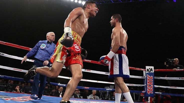 Who wins a rematch between newly crowned WBO 154-pound champion Sadam Ali @theworldkidali and former two-division champion Jessie Vargas @jessievargas_ ? In their first meeting in March 2016 Vargas scored a ninth-round TKO over Ali. In a rematch would it be revenge or repeat? Let us know your thoughts below  : Patrick Smith/Getty Images #Boxing #boxeo #rematch #repeat #revenge #worldkid #sadamali #jessievargas #alivargas2 #wbo #knockout #champion #brooklyn #nyc #lasvegas #frontproof