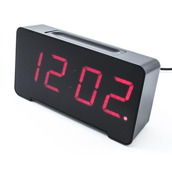 The Sandman is a modern hybrid of the charging station and alarm clock. The integrated USB ports and cable management allow the user to charge up to four device