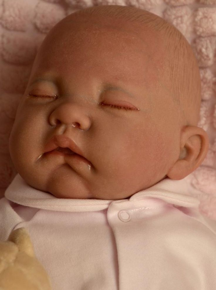 Panenky Antonio Juan | Reborn miminko - spící holčička Carmen od Antonio Juan | Realistické panenky a miminka jako živá ze Španělska a dřevěné hračky