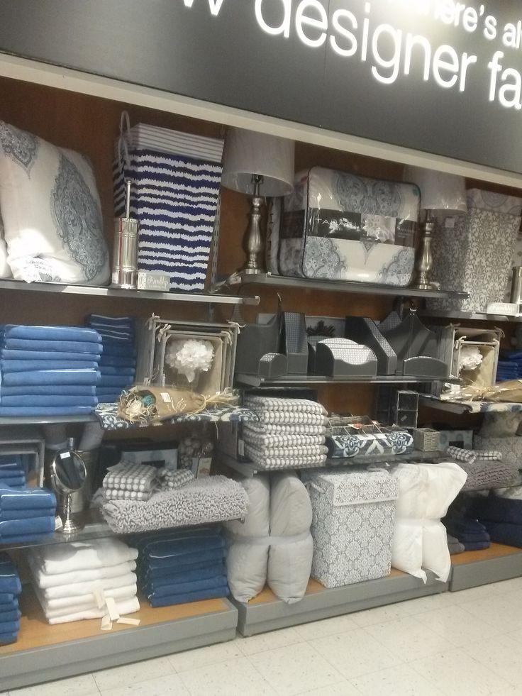 Bed and Bath cove, retail display, TJ Maxx, Topeka