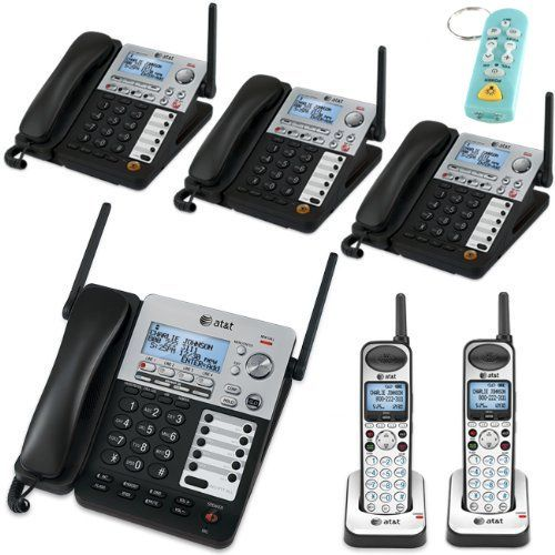 Best price on AT&T SB67138/SB67158 SynJ 4-Line Corded/Cordless Business Phone System with 3 SB67148 Cordless Desksets & 2 Cordless Handsets  See details here: http://topofficeshop.com/product/att-sb67138sb67158-synj-4-line-cordedcordless-business-phone-system-with-3-sb67148-cordless-desksets-2-cordless-handsets/    Truly a bargain for the brand new AT&T SB67138/SB67158 SynJ 4-Line Corded/Cordless Business Phone System with 3 SB67148 Cordless Desksets & 2 Cordless Handsets! Have a look at…