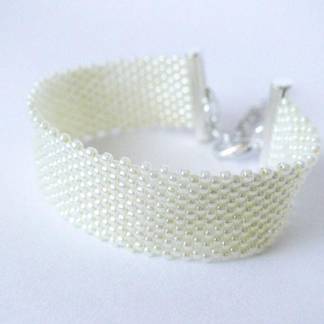 #bracelet #beadedbracelet #bransoletka #DIY #mobihandmade #beading #peyote
