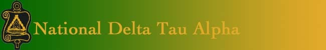 Delta Tau Alpha - national agriculture honor society