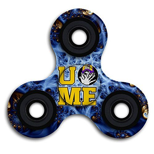 Cheap price WWE John Cena Tri-Spinner Fidget Toy Hand Spinner Camouflage Stress Reducer Relieve Anxiety And Boredom on sale