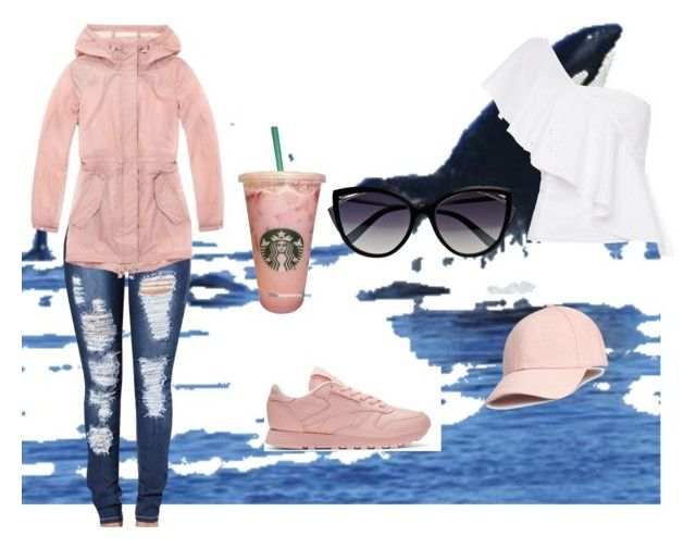 """""""#top$"""" by renu-reddy ❤ liked on Polyvore featuring Andrew Marc, La Perla, Reebok and FLOW the Label"""