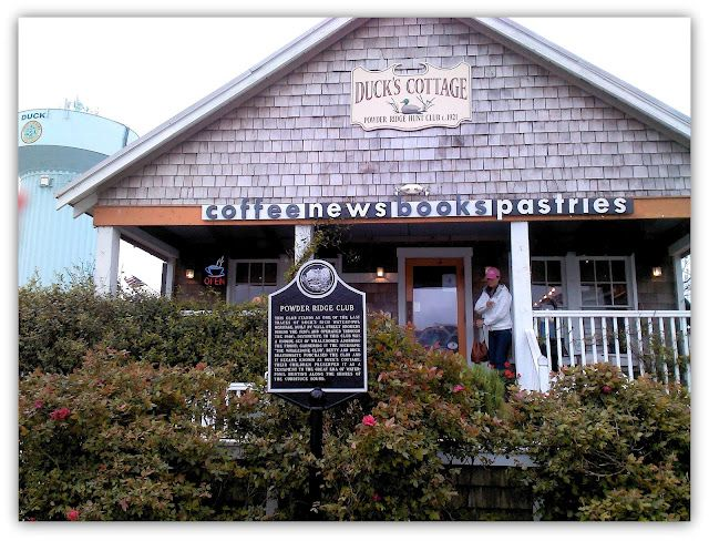 Duck, NC ~ Duck's Cottage, Great Coffee Shop!