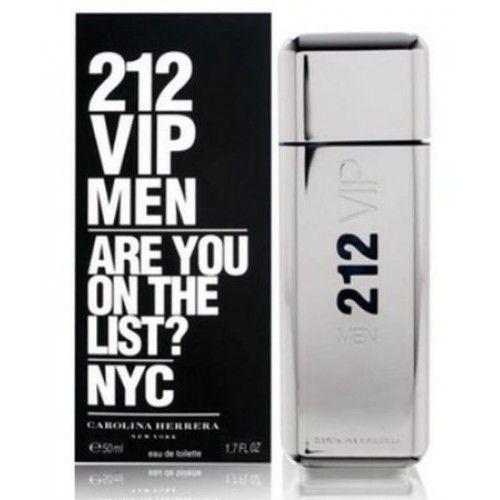 Carolina Herrera 212 Vip Man Edt Spray 1.7 Oz 50ml